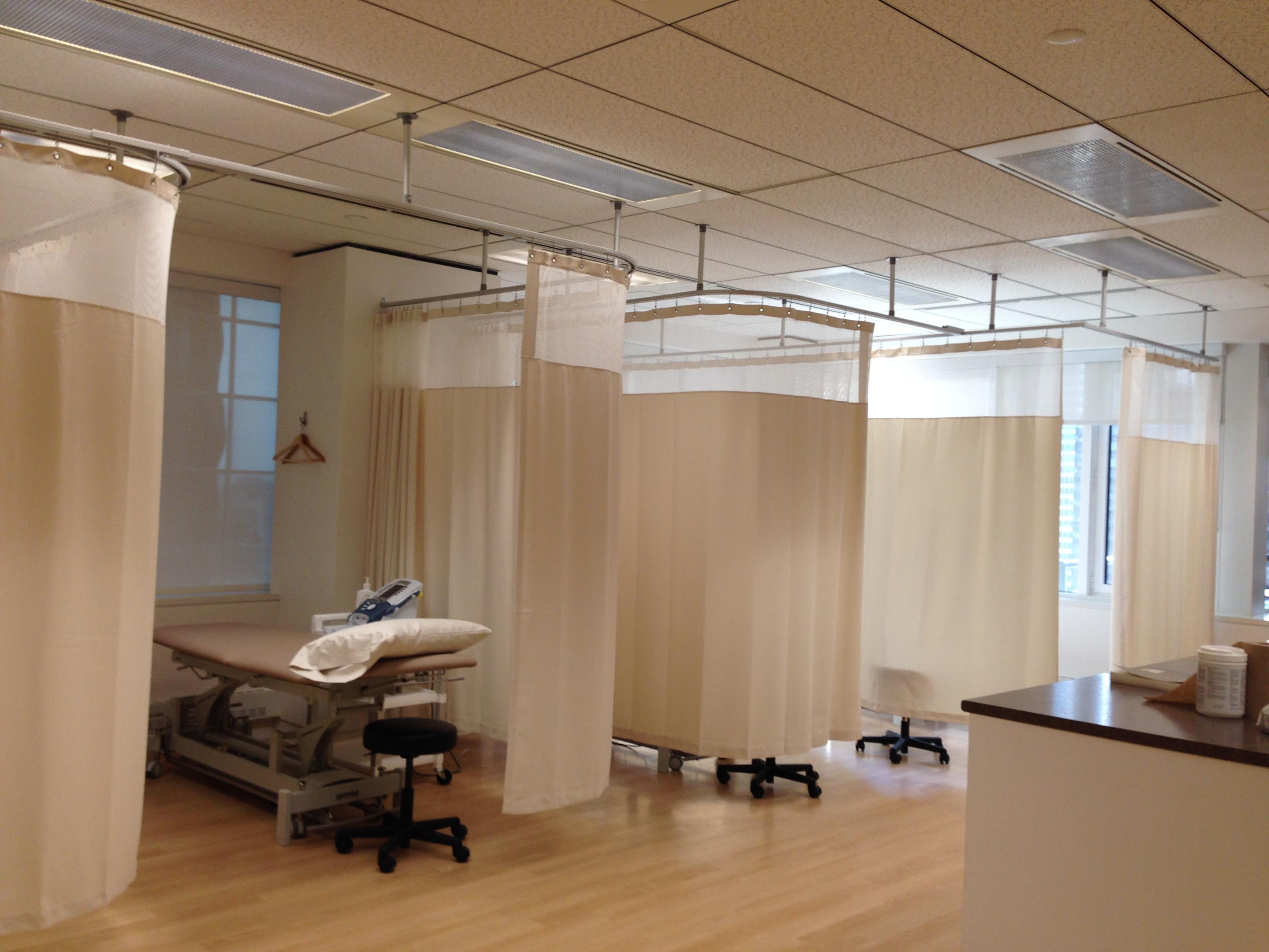 Hospital Curtain Rails